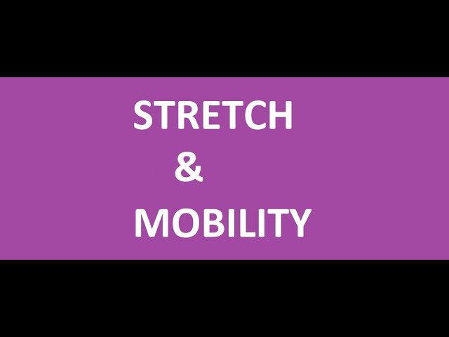 Stretching and Mobility with Sarah Jayne