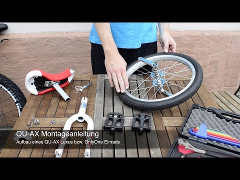 "Video: Qu-Ax® outdoor éénwieler ""Luxus"""