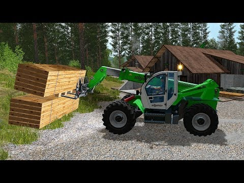 Farming Simulator 17 - Forestry and Farming on The Valley The Old Farm 098 thumbnail