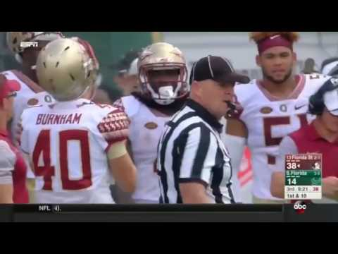 Fsu USF 2016 condensed full game