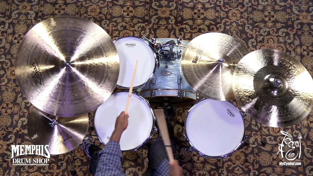 Zildjian 19 K Custom Hybrid Crash Cymbal Played By Will Kennedy 1672g K1219 1060317d