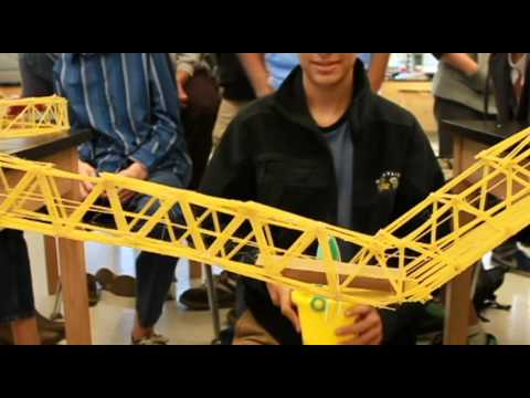 how to build a bridge out of spaghetti