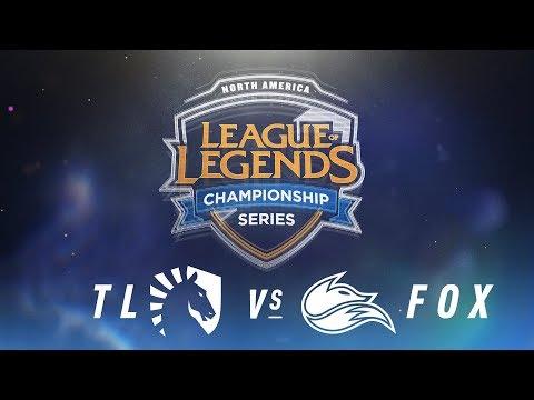 TL vs. FOX - Week 4 Day 2 | NA LCS Spring Split | Team Liquid vs. Echo Fox (2018)