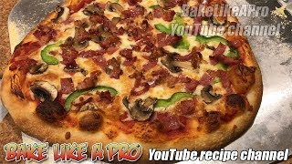 Make Your Own Homemade Pizzas At Home with BakeLikeAPro