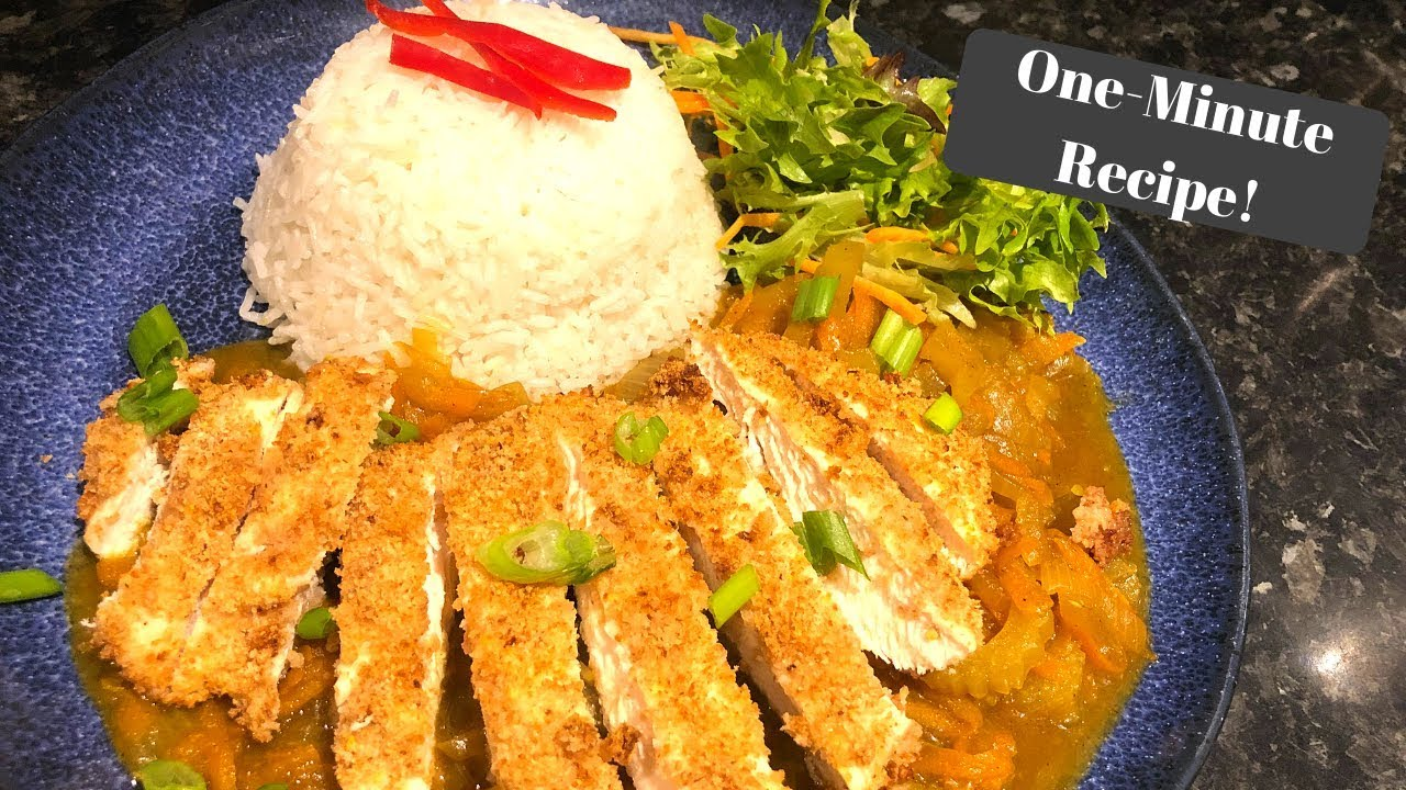 Slimming World Katsu Chicken Curry Fakeaway I One Minute Recipe
