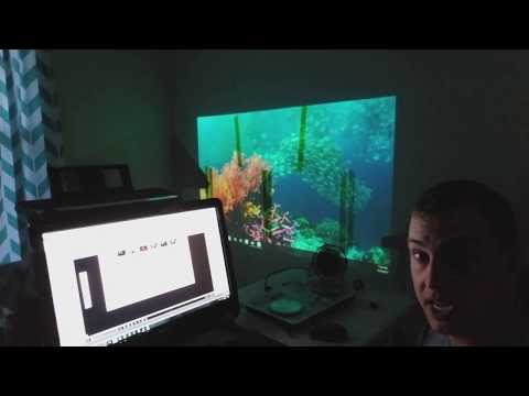 2017 vlog #2.  Setting up Projection mapping.