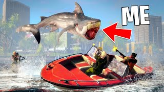 PLAY AS A MEGALODON SHARK!! (Maneater, Part 2)