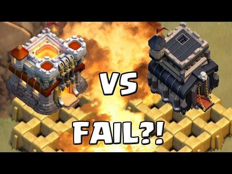 RATHAUS 11 vs. RATHAUS 9 - FAIL?! || CLASH OF CLANS || Let's Play CoC [Deutsch/German]