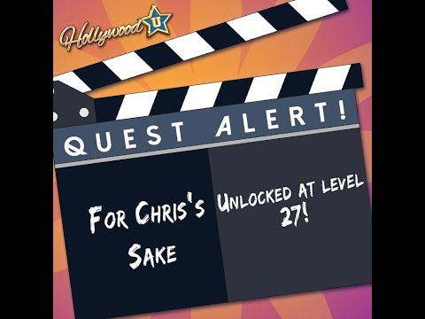 Hollywood U: Rising Stars - For Chris' sake (Chris' recruitment quest)