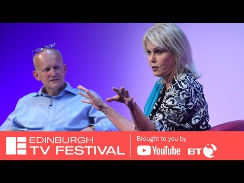 Joanna Lumley – It's all About Me on TV with Clive Tulloh  Edinburgh TV Festival 2018