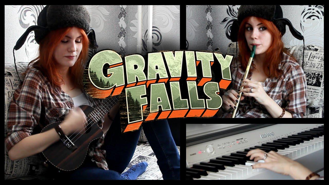 Gravity Falls Theme Cover (Ukulele, Tin Whistle, Piano) - YouTube - Linkis.com