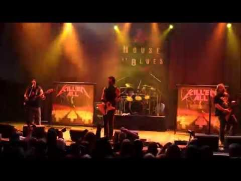 Kill 'Em All performing at the House Of Blues on Oct. 3rd 2015