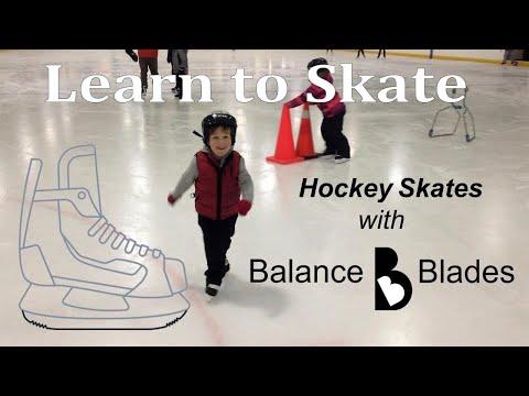 Learn to skate on Balance Blades Hockey Skates