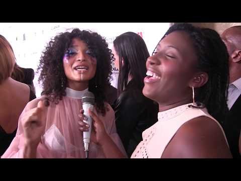 Indya Moore Interview at the EBONY Power 100 Gala