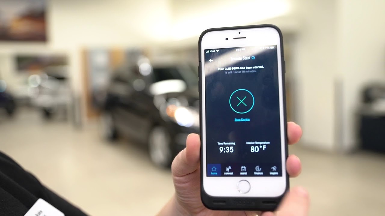Mercedes-Benz Remote Start with the MercedesMe app