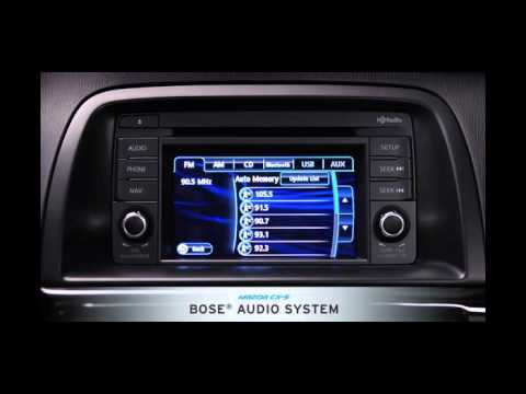 Bose Sound System >> Mazda CX-5 Demo Video — Technology | Mazda USA - YouTube