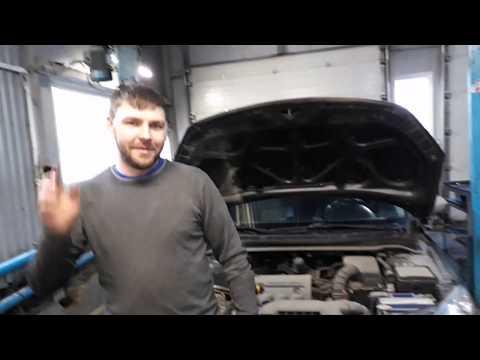 Kia Ceed ошибка P0011 чистка клапана Cvvt