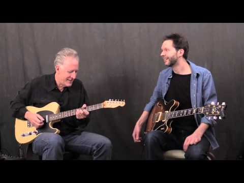Keith Wyatt Talks Guitar with Paul Gilbert: Part 1 of Interview / Jam