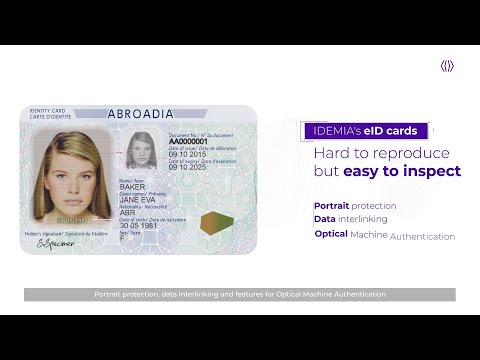 National identity cards, creating tamper-proof ID documents