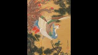 若冲の花鳥画80年ぶり発見 傑作「動植綵絵」に類似