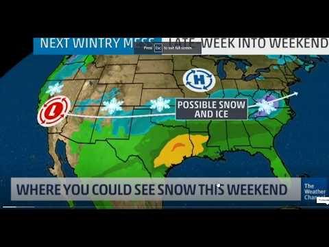 GSM Update 12/6/18 - Winter Storm Diego To Bring Cross-Country Swath of Snow & Ice - CO2 Rises