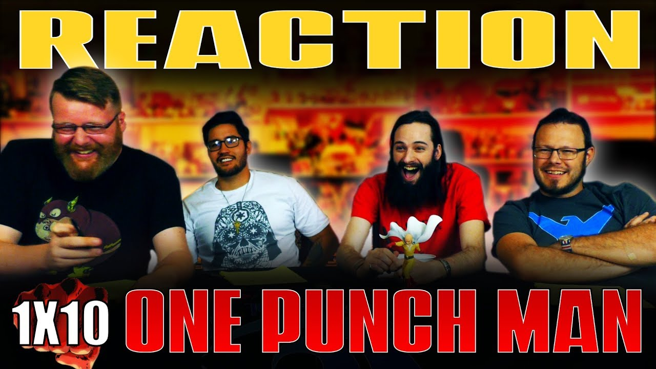 """Download One Punch Man 1x10 REACTION!! """"Unparalleled Peril"""""""