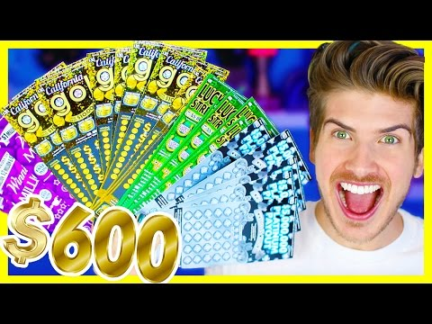 SCRATCHING $600 WORTH OF LOTTERY TICKETS! I WON HOW MUCH?!