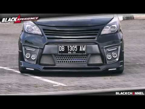 Modifikasi Toyota Avanza Veloz dengan cita rasa Alphard Vellfire