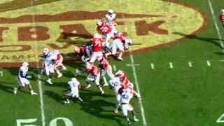 Wisconsin vs Auburn Outback Bowl Highlights