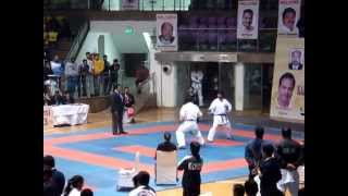 Male Kumite Vikash Sharma KAI National Senior Karate Championship 2014