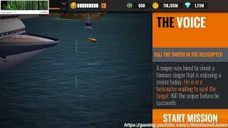Sniper 3D Assassin Mallow Bay Primary Mission #30 The Voice / Kill The Sniper In The Helicopter