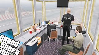Police Checkpoint    Gta 5 Mod Showcase