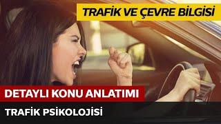 Trafik ve Çevre bilgisi / trafik psikolojisi