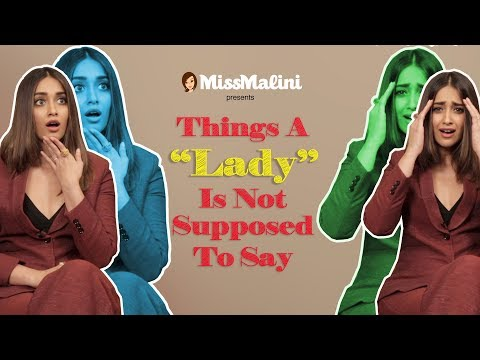 "Thumbnail: Things A ""Lady"" Isn't Supposed To Say"
