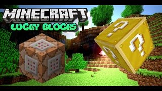 Lucky Blocks   No Mods   Only One Command  Minecraft 1.8.9