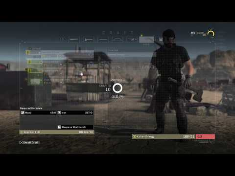 Metal Gear Survive - Chapter 10 Head for the Source of Radio Transmission - Several Recipe's