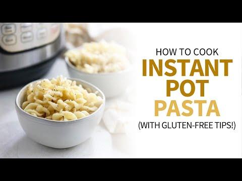 How to Cook Pasta in the Instant Pot (Regular & Gluten-Free!)