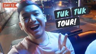 BANGKOK TUK TUK TOUR AT NIGHT! - 2018 Vlogmas Day 14 ohitsROME