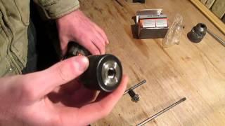 Замена патрона у дрели.(В этом видео я описываю как можно заменить патрон у дрели. Замена заключается в том что в первую очередь..., 2013-03-23T19:27:27.000Z)