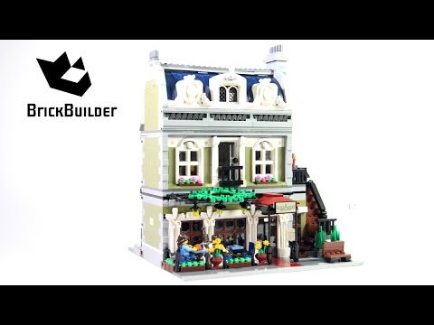 Lego Creator 10243 Parisian Restaurant - Lego Speed Build
