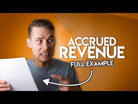 Accrued Revenue MADE EASY | Adjusting Entries
