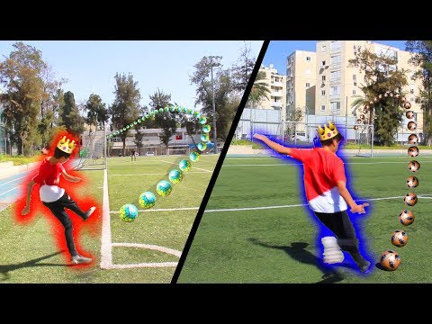 המלך של אתגרי הכדורגל!!!
