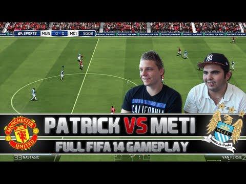 Fifa 14   Full Gameplay - ManUtd vs. ManCity   + Player ratings & Facecam   PatrickHDxGaming