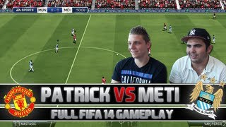 Fifa 14 | Full Gameplay - ManUtd vs. ManCity | + Player ratings & Facecam | PatrickHDxGaming