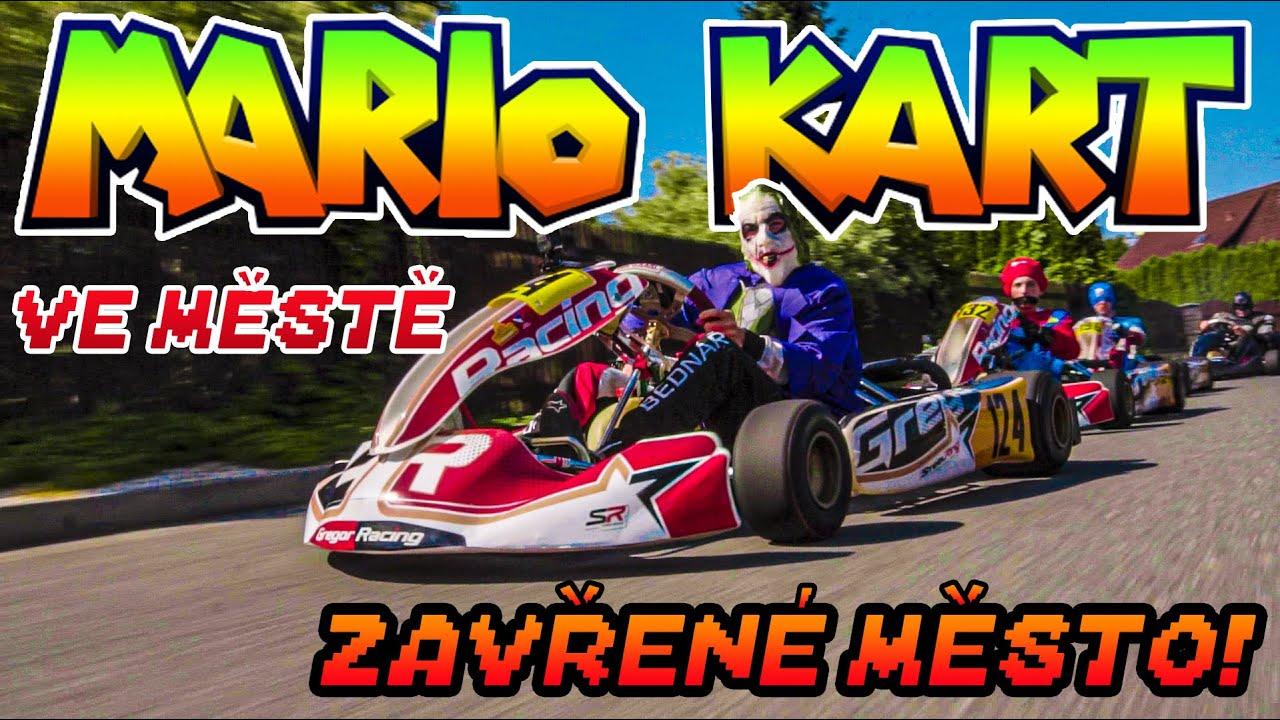 Mario Kart | Ve městě! | Uzavřeli jsme město na závod!