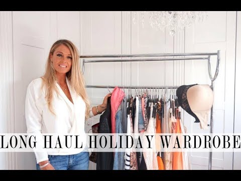 Capsule Holiday Wardrobe - Long Haul