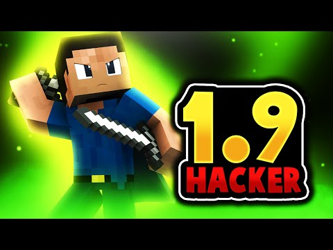 I GET MAD AT 1.9 HACKER!! ( Minecraft 1.9 Skywars Server w/ TheCampingRusher )