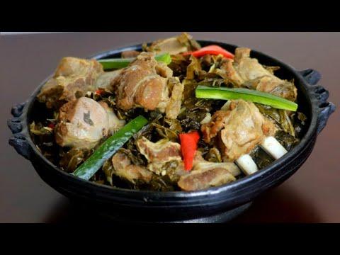 በጣም ፈጣንና ጤናማ ጎመን በስጋ አሰራር   Ethiopian Food    How to cook Gomen Besiga
