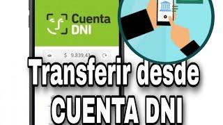 Transferir DINERO desde CUENTA DNI  del Banco Provincia PASO A PASO
