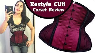 RESTYLE CU Curvy Underbust Corset Review!   Lucy's Corsetry